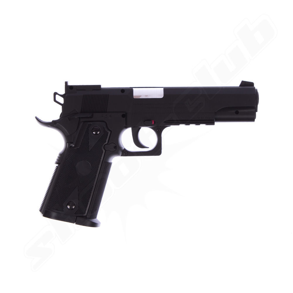 Swiss Arms P1911 Match CO2 Pistole NBB - 4,5mm BBs Bild 2