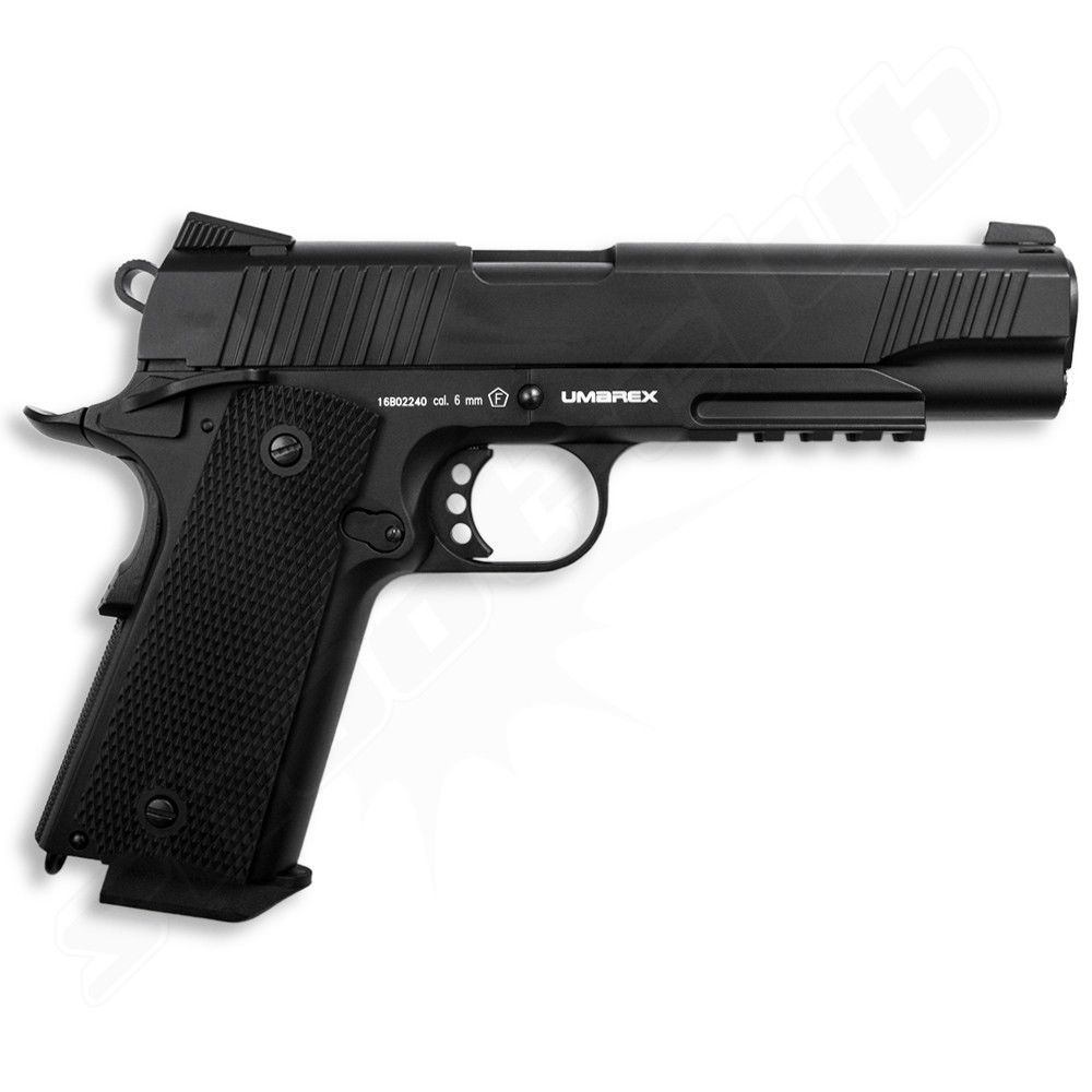 KWC Elite Force 1911 TAC Airsoft CO2 GBB Pistole ab18 Bild 2