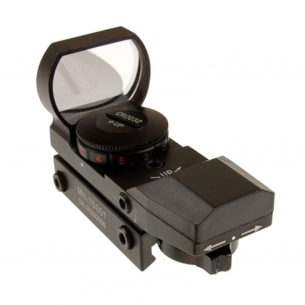 Center Point Tactical Open Reflex Sight - mit 4 versch. Fadenkreuzen Bild 2