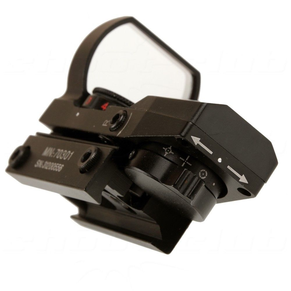 Center Point Tactical Open Reflex Sight - mit 4 versch. Fadenkreuzen Bild 3