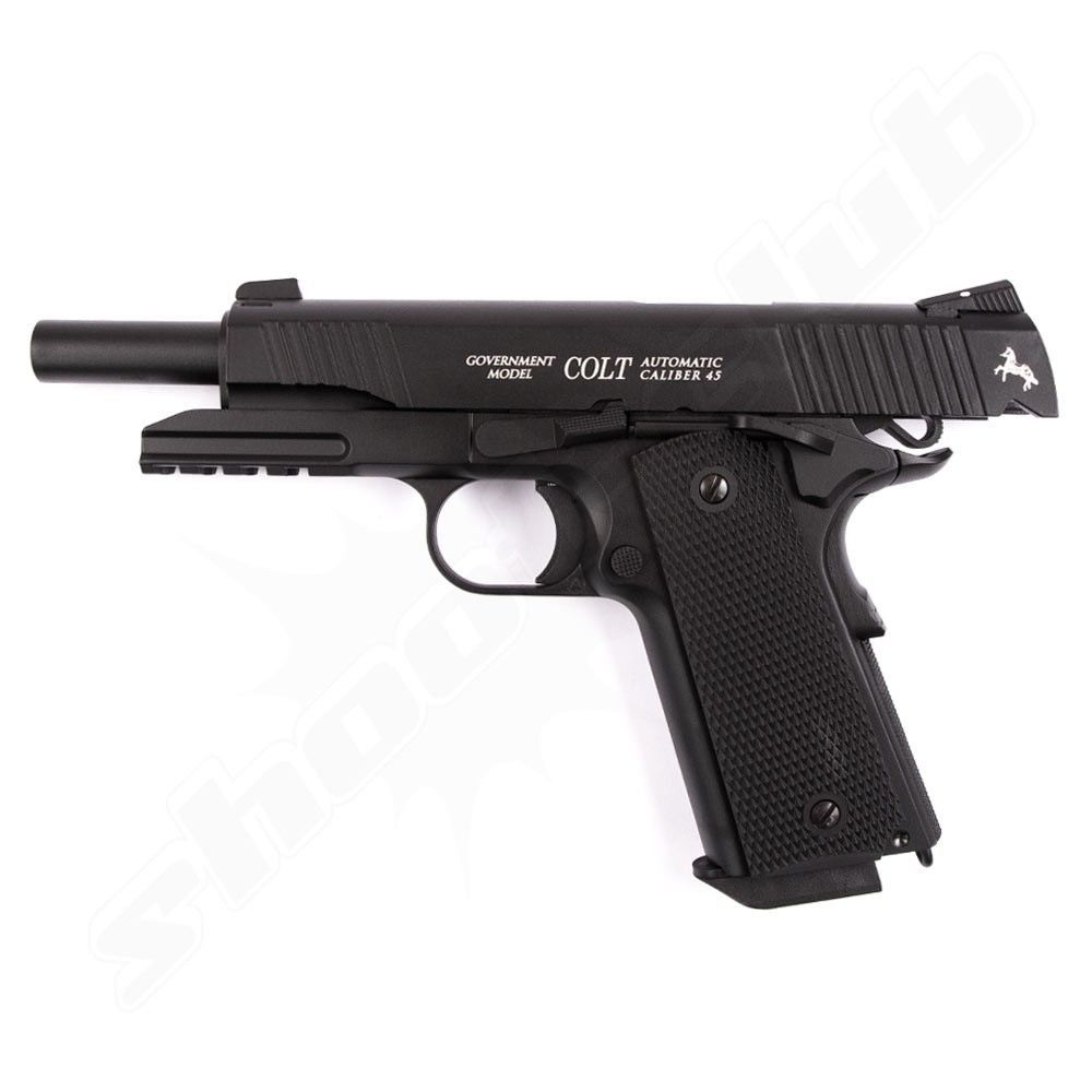 Colt Government M45 CQBP CO2 Pistole - 4,5 mm Stahlkugeln Bild 2