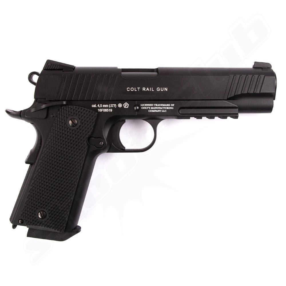 Colt Government M45 CQBP CO2 Pistole - 4,5 mm Stahlkugeln Bild 3