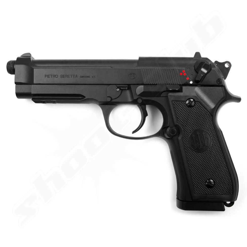 Beretta M92 A1 Tactical Softair Pistole AEP - 6mm Bild 2