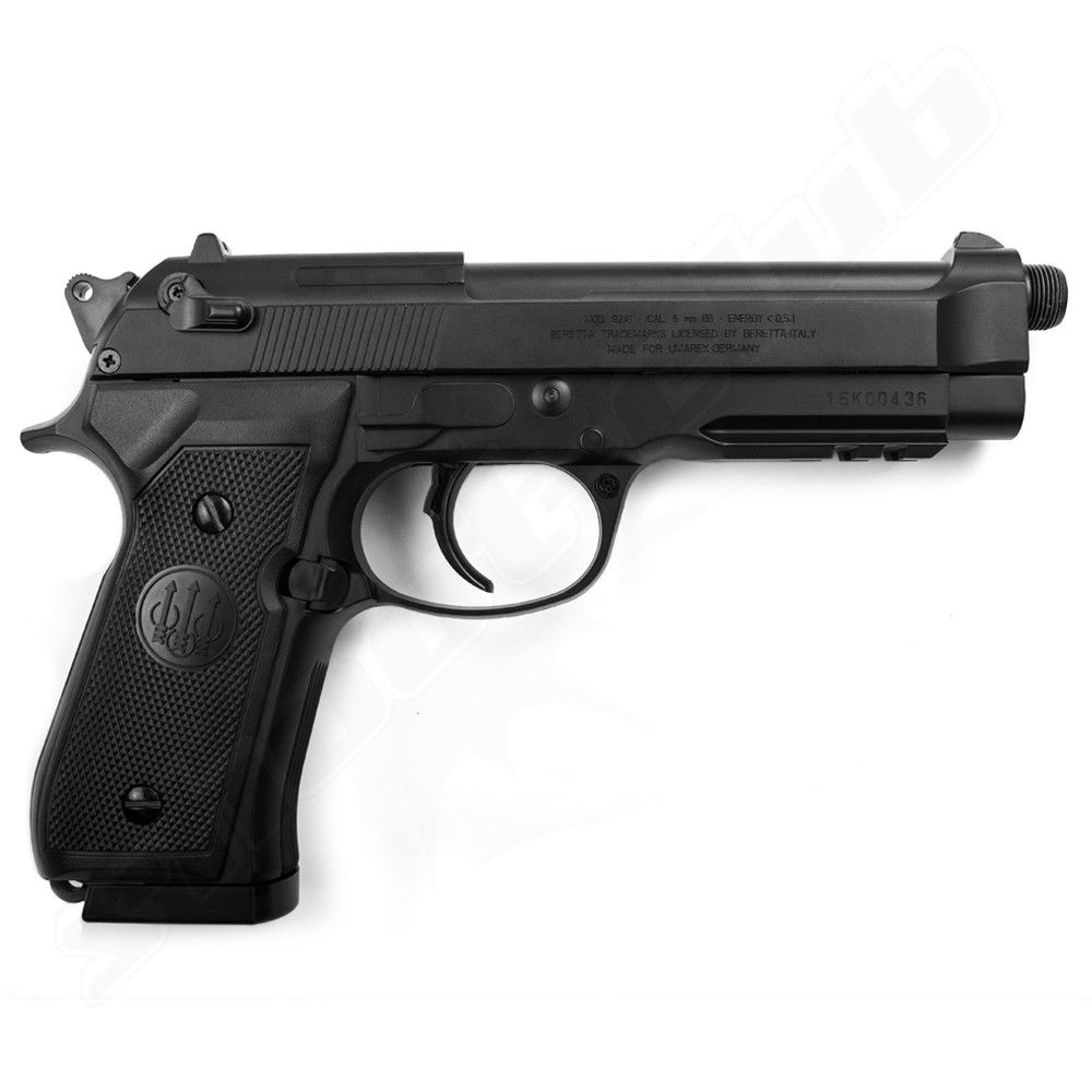 Beretta M92 A1 Tactical Softair Pistole AEP - 6mm Bild 3