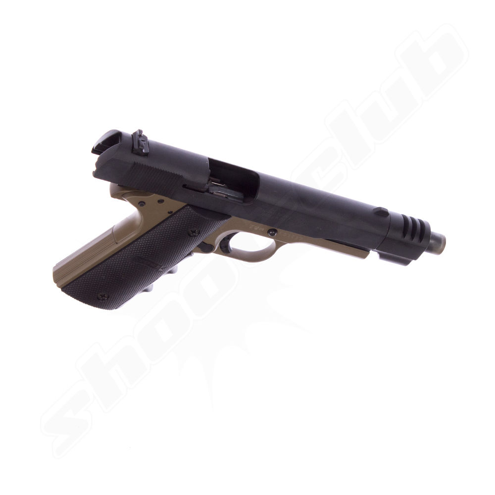 ME 1911 Sport black - dark earth Gaspistole Bild 4