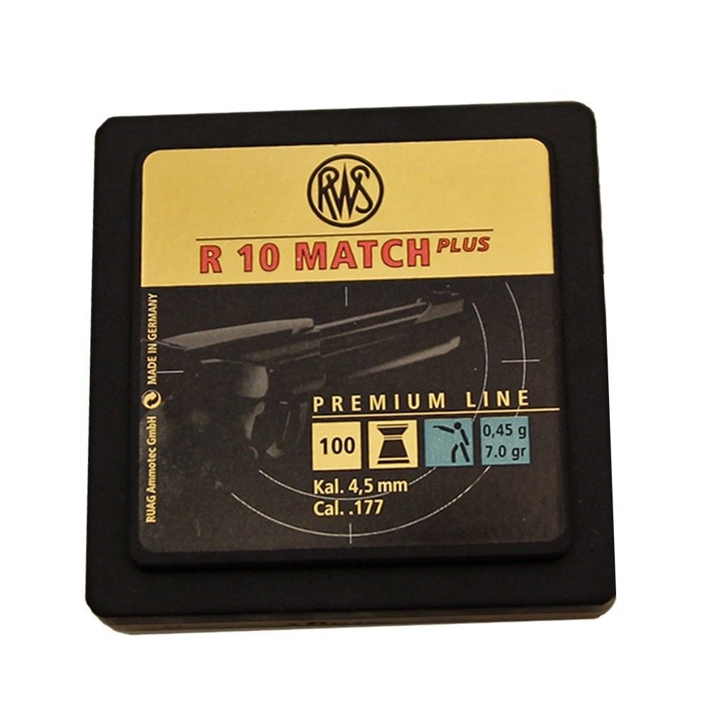 RWS R10 Match Plus Diabolos Kal. 4,5mm im Combi-Pack - 1000 Stk. Bild 2