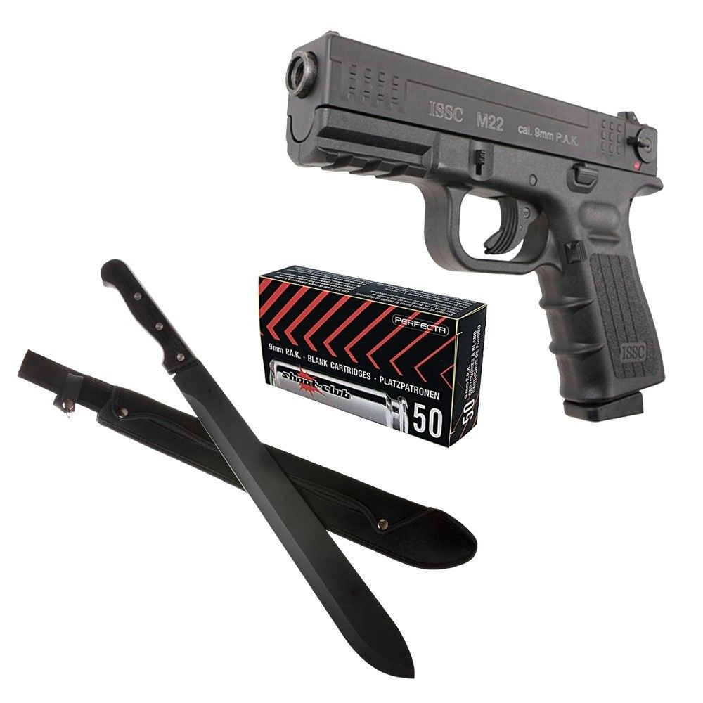 Zombie Set - Urban - Machete MP9 & ISSC M22 9mm P.A.K Bild 2