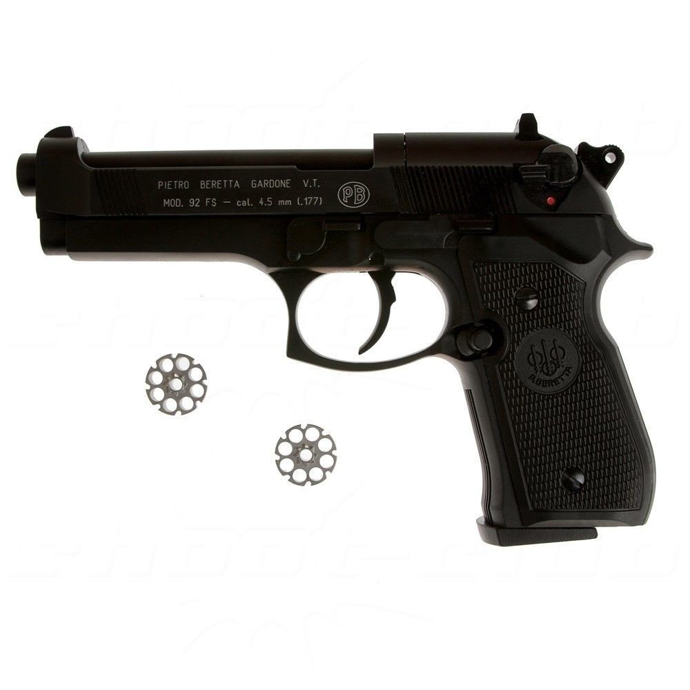 Zombie Set - Rookie - Beretta M92 FS CO2-Pistole 4,5mm Bild 3