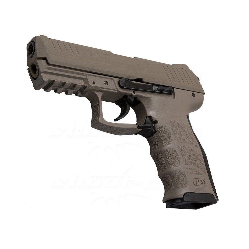 h k p30 fde schreckschusspistole 9mm platzpatronen. Black Bedroom Furniture Sets. Home Design Ideas