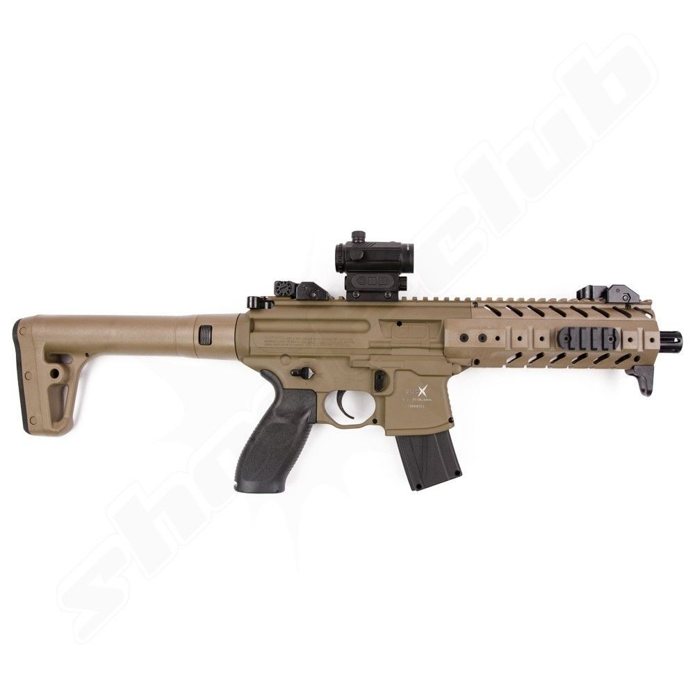 CO2 Gewehr Sig Sauer MPX Kaliber 4,5mm Diabolos - Dark Earth Bild 2