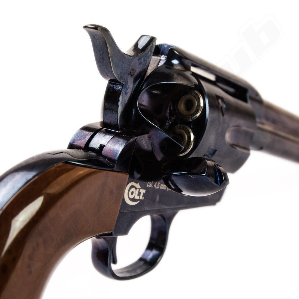 COLT SAA .45 Peacemaker CO2-Revolver - 4,5mm - Blue Bild 2