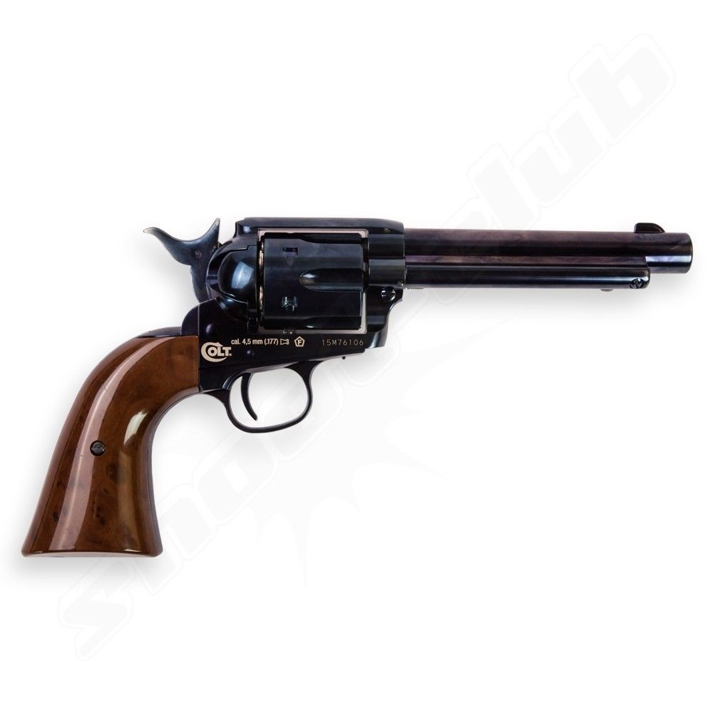 COLT SAA .45 Peacemaker CO2-Revolver - 4,5mm - Blue Bild 3