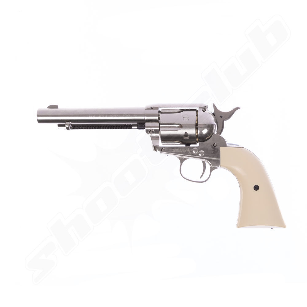 CO2 Revolver COLT SAA .45 Peacemaker 4,5mm BBs - Koffer-Set Bild 4