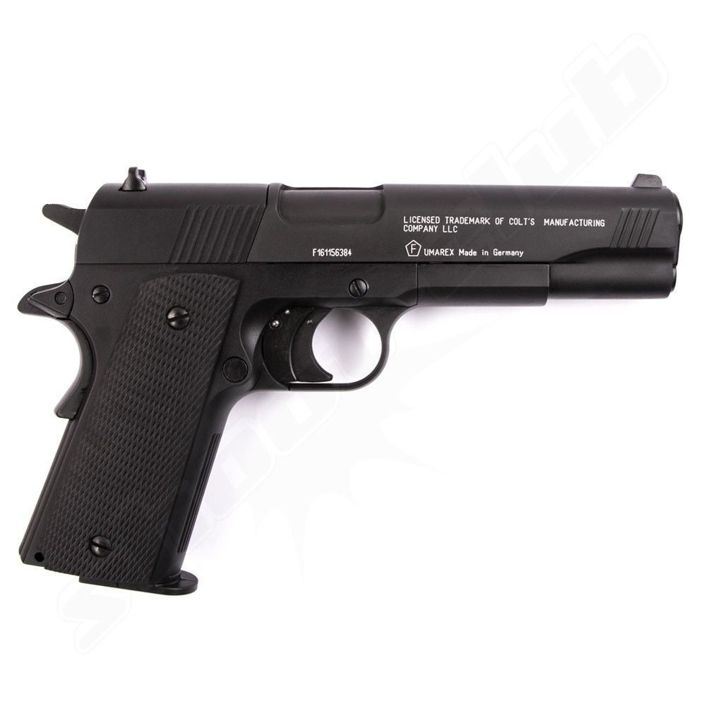 Colt Government 1911 A1 CO2 Pistole 4,5 mm - Set Bild 2