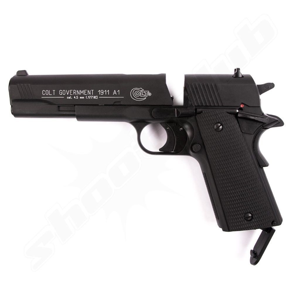 Colt Government 1911 A1 CO2 Pistole 4,5 mm - Set Bild 3