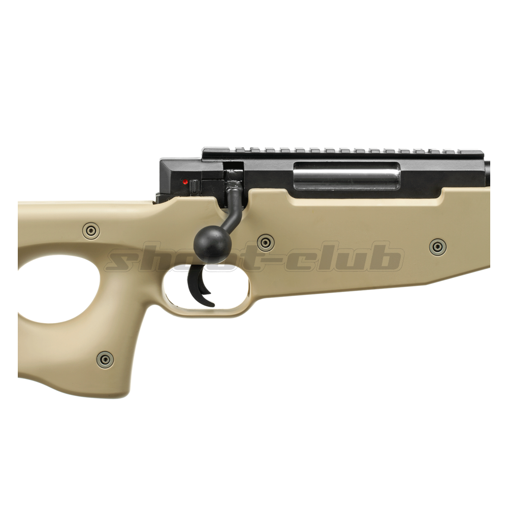 Well L96 MB-01 6mm Airsoft Sniper Tan - ab 18 Bild 3