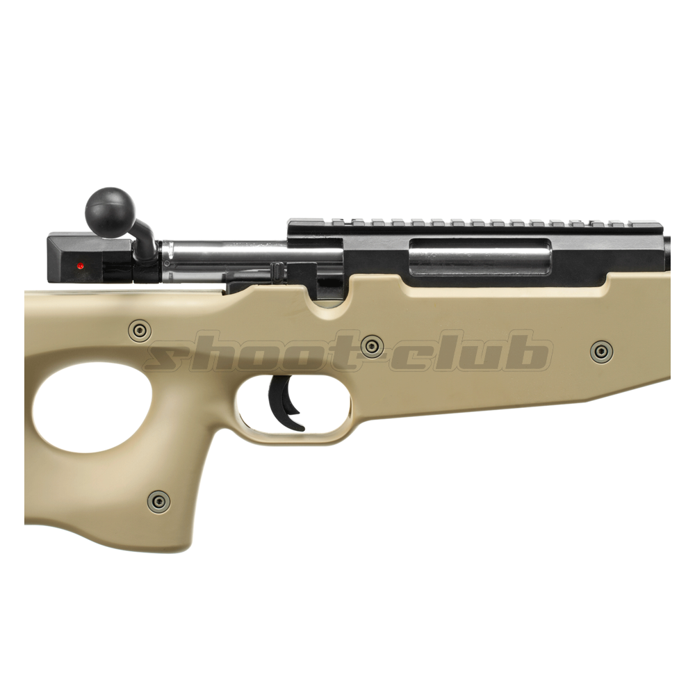 Well L96 MB-01 6mm Airsoft Sniper Tan - ab 18 Bild 4