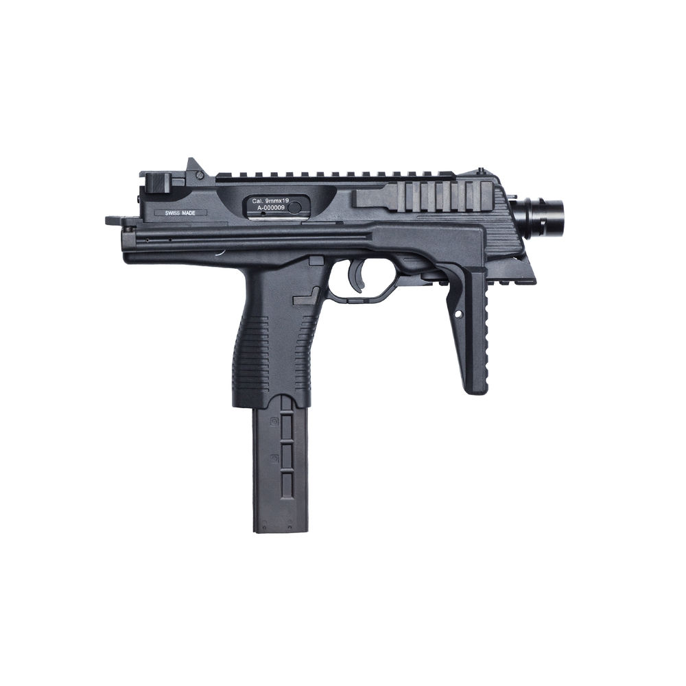 KWA B&T MP9A3 Airsoft GBB Maschinenpistole ab18 - Black Bild 2