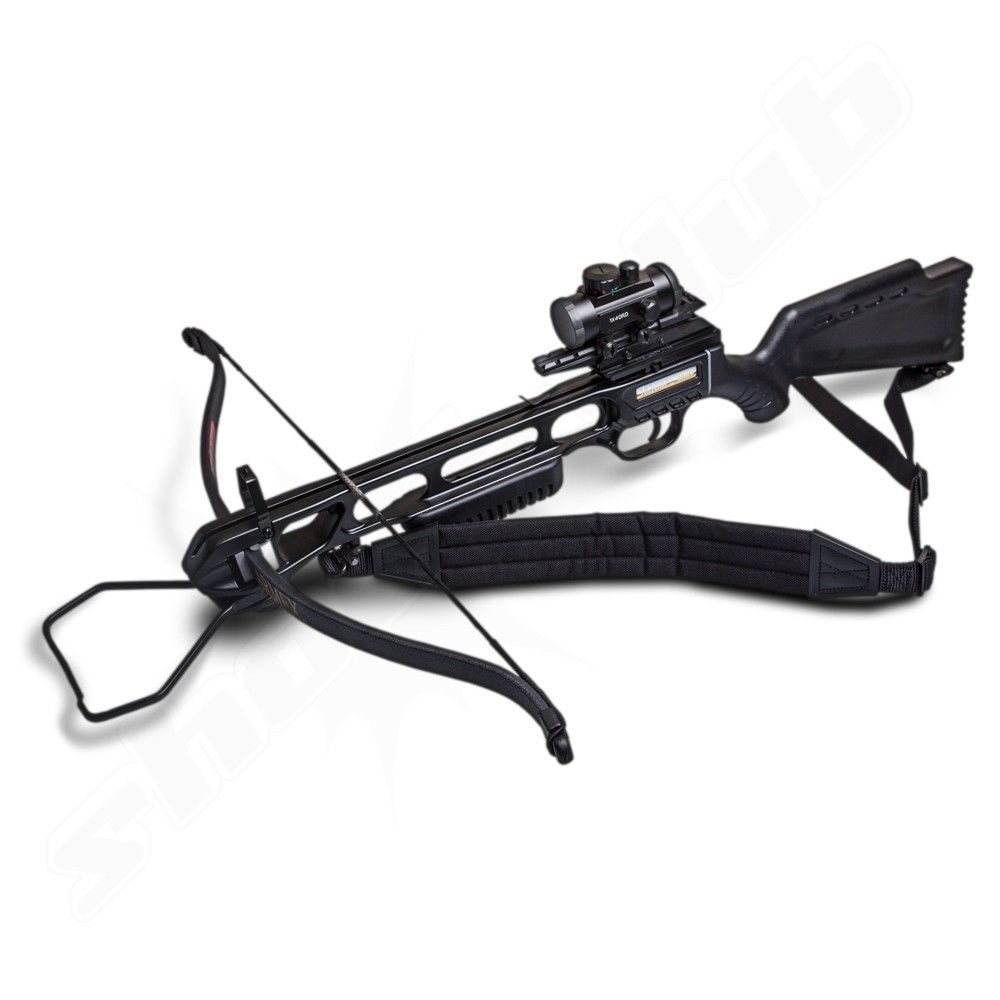 armex jaguar recurve armbrust 175 lbs schwarz bolzen. Black Bedroom Furniture Sets. Home Design Ideas