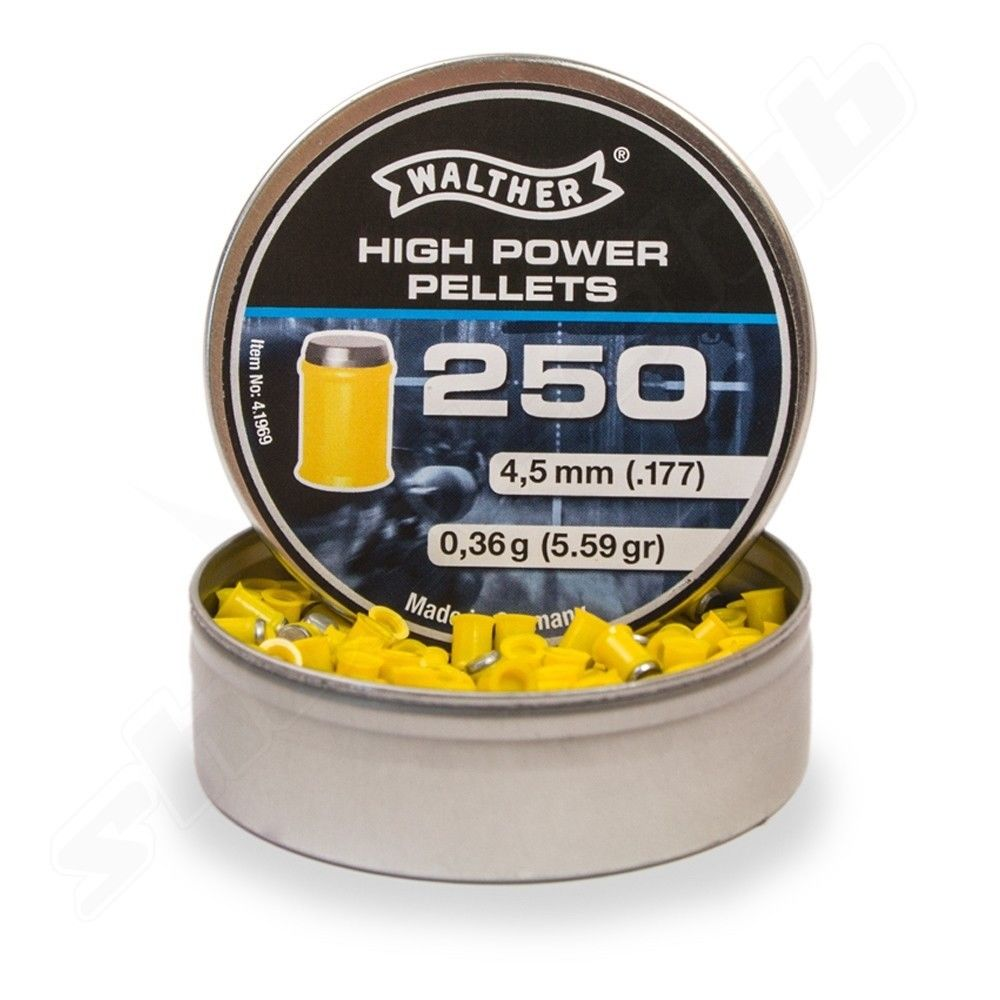 Walther High Power Pellets 4,5mm Diabolos - 250 Stk. Bild 3