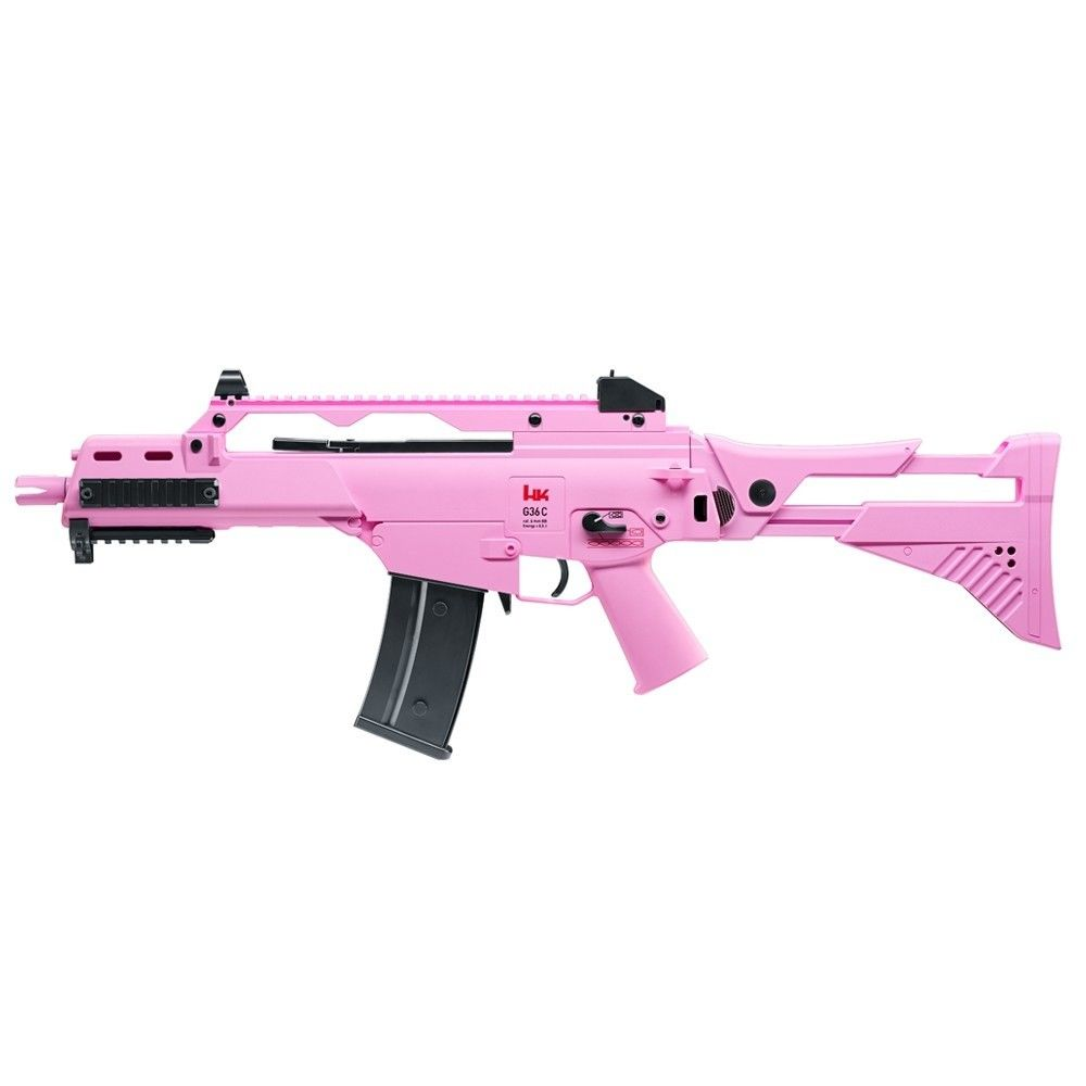 H&KG36 C IDZ Softair Gewehr 6 mm electric Blowback - Pink Edition Bild 2