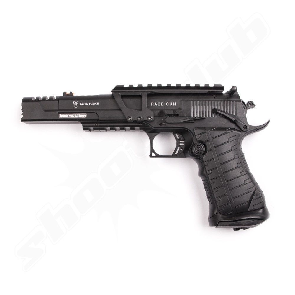 Elite Force Race Gun CO2 Pistole 6mm + Rotpunktvisier Bild 2