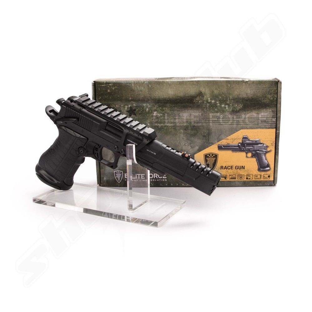 Elite Force Race Gun CO2 Pistole 6mm + Rotpunktvisier Bild 4