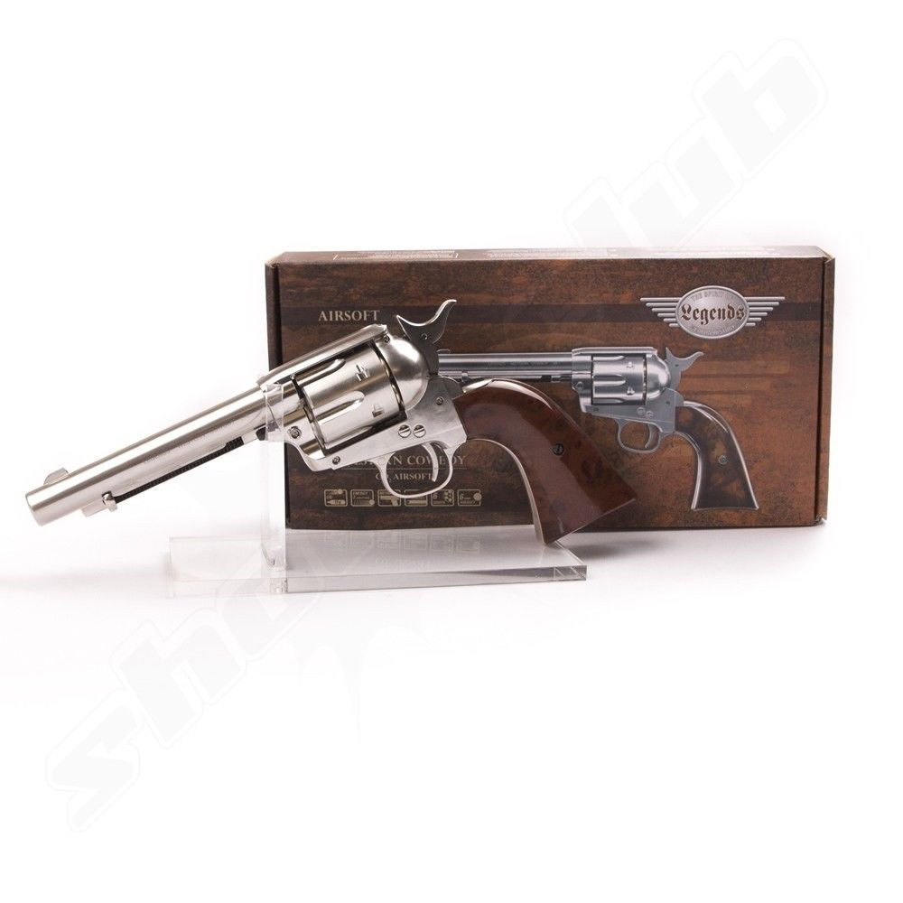 Legends Western Cowboy CO2 Revolver - Kal. 6mm BB Bild 3