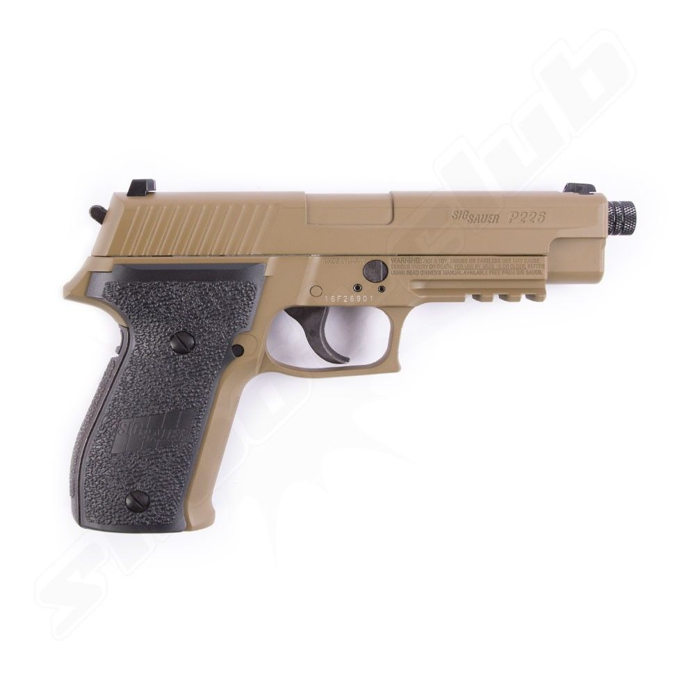 Sig Sauer P226 CO2 Pistole Dark Earth - 4,5mm Diabolos Bild 2