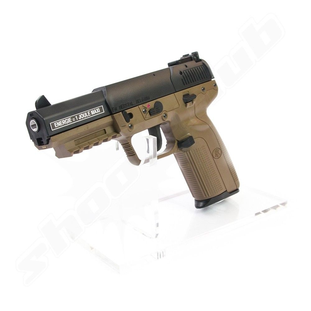 FN Herstal Five-seveN Softair Pistole Co2 GBB Marushin 6 mm 1 Joule TAN Bild 2