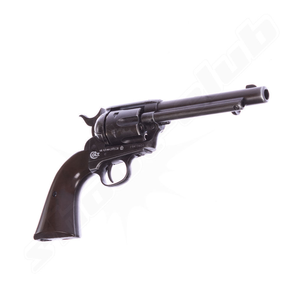 COLT SAA .45 Peacemaker Antique CO2-Revolver 4,5mm BB Bild 3