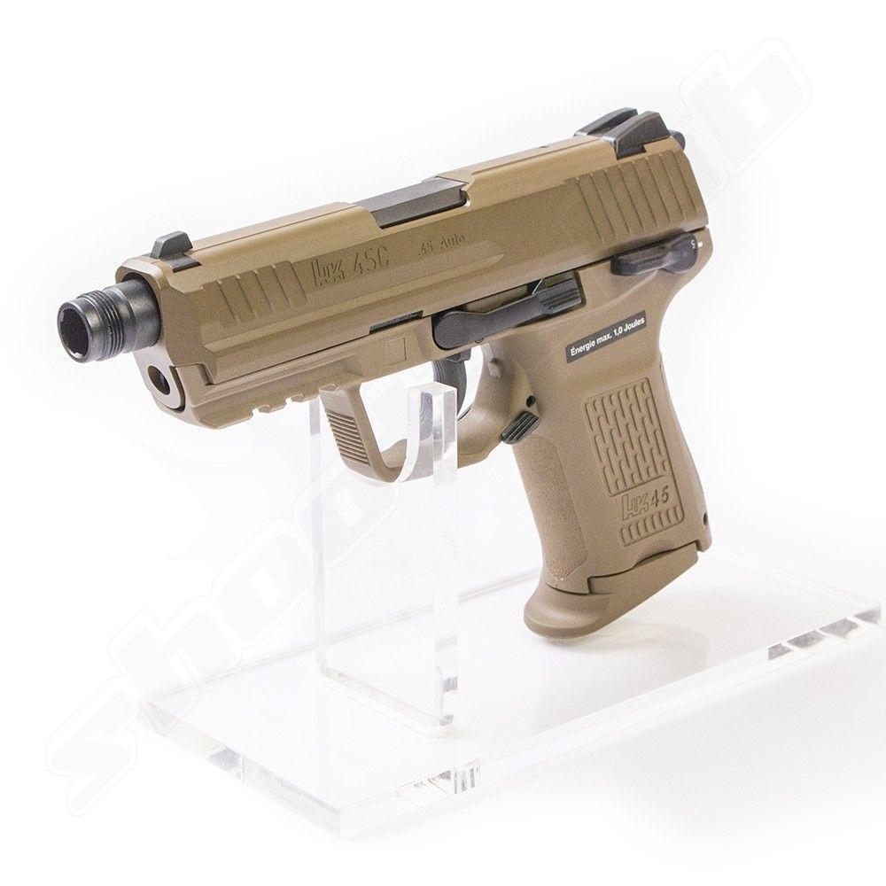 Heckler & Koch HK45 CT Softair Pistole GBB VFC 6 mm 1 Joule FDE Bild 2