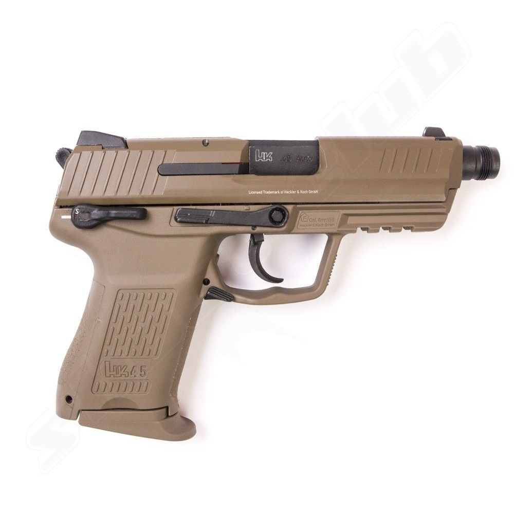 Heckler & Koch HK45 CT Softair Pistole GBB VFC 6 mm 1 Joule FDE Bild 3