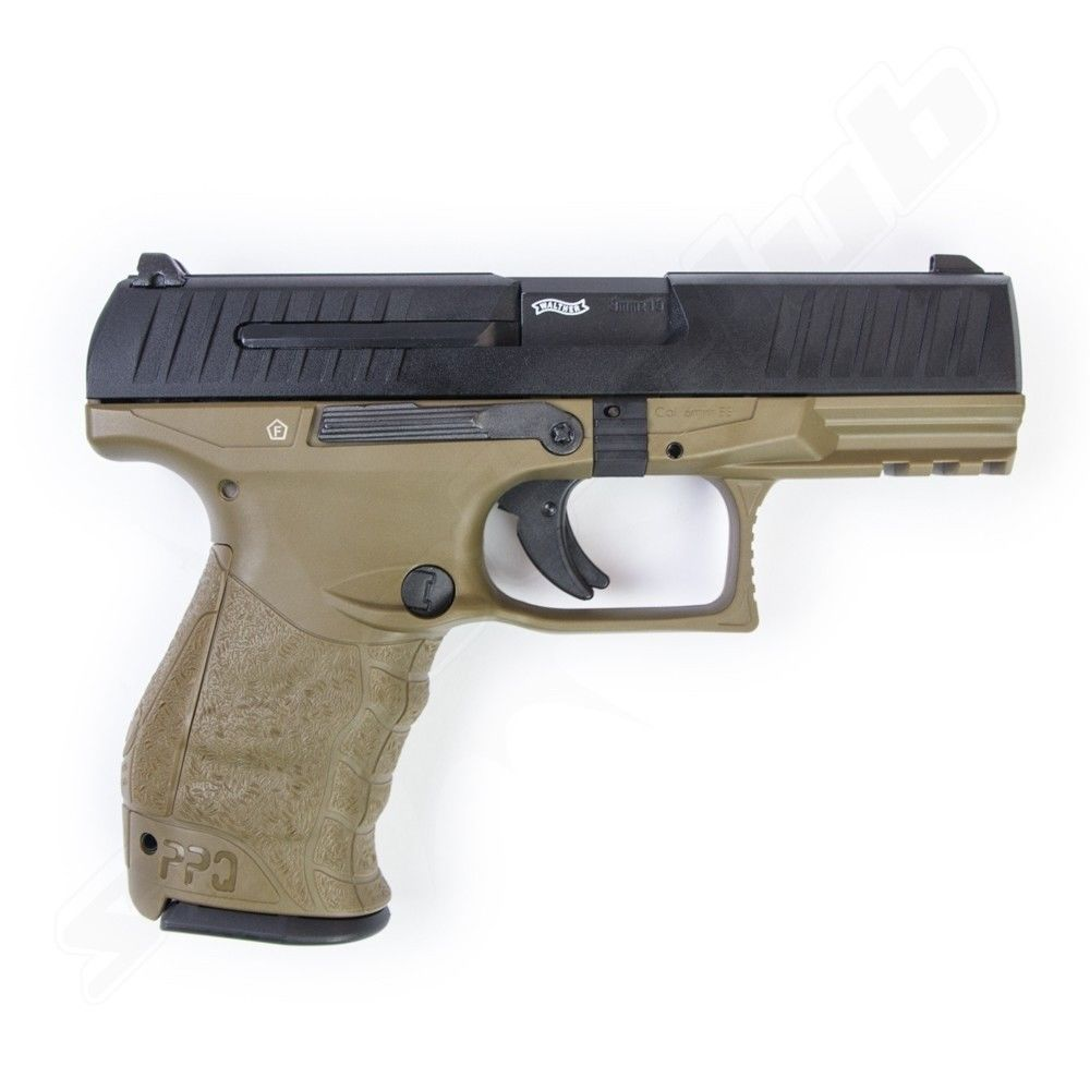 Walther PPQ M2 Softair Pistole GBB VFC 6 mm 1 Joule RAL 8000 Bild 2