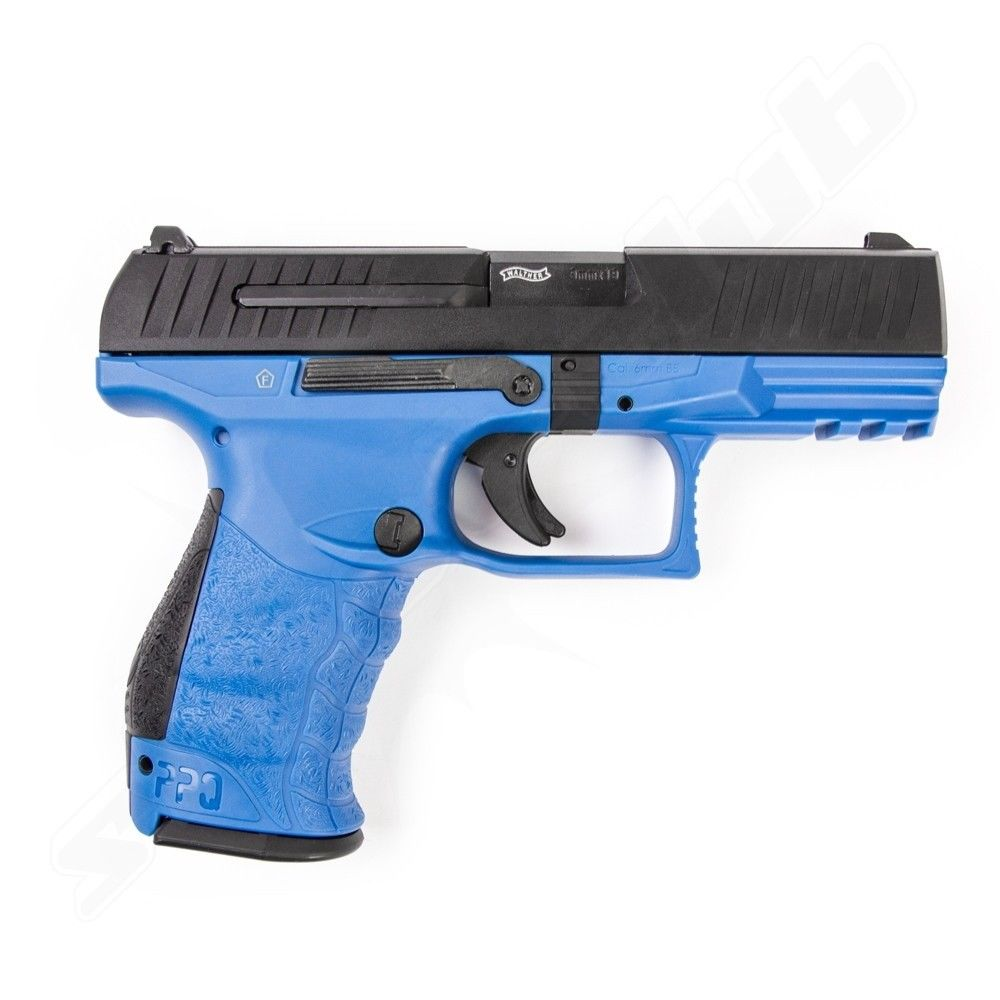 Walther PPQ M2 Softair Pistole 6mm GBB Deep Blue max. 1J  - VFC Bild 2