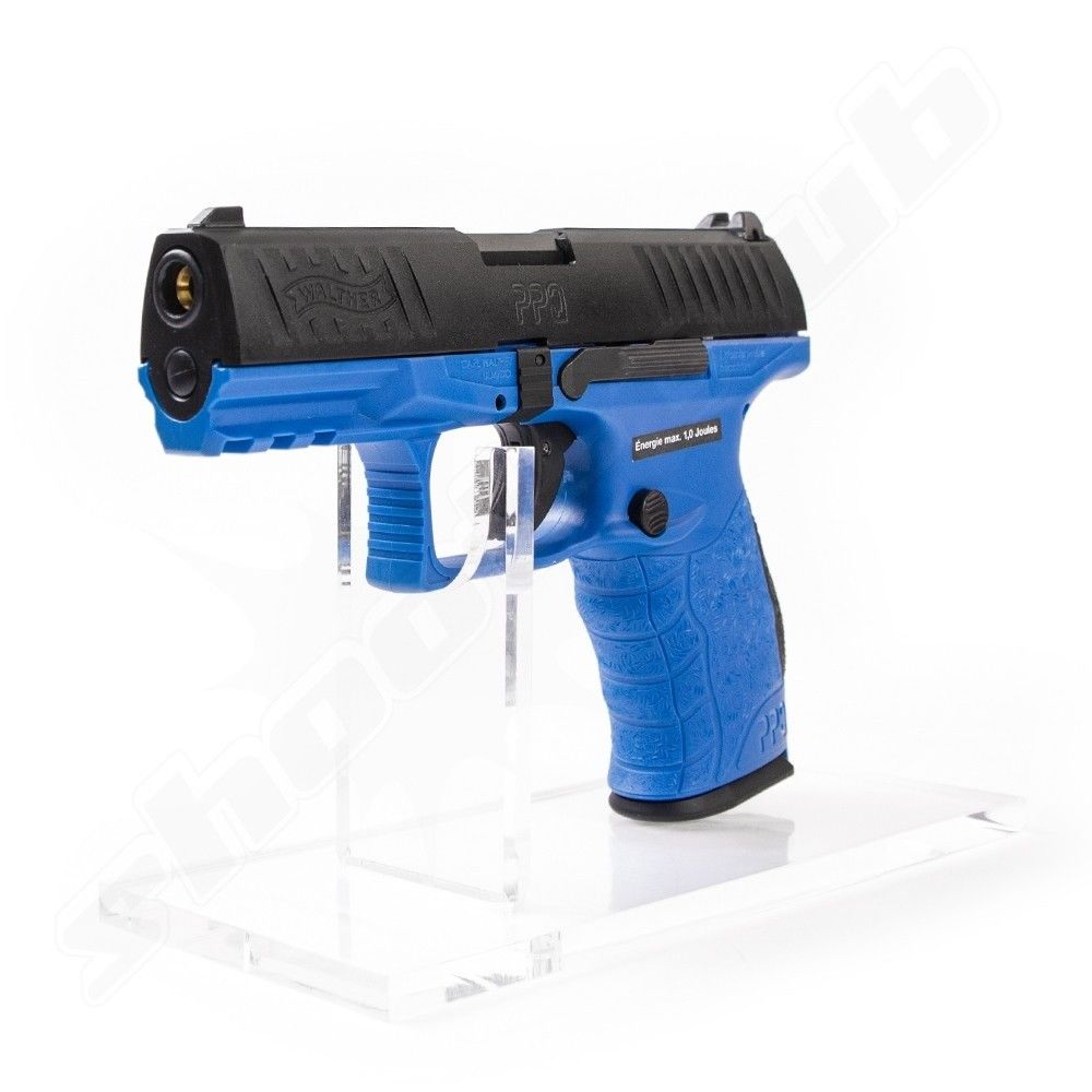 Walther PPQ M2 Softair Pistole 6mm GBB Deep Blue max. 1J  - VFC Bild 3