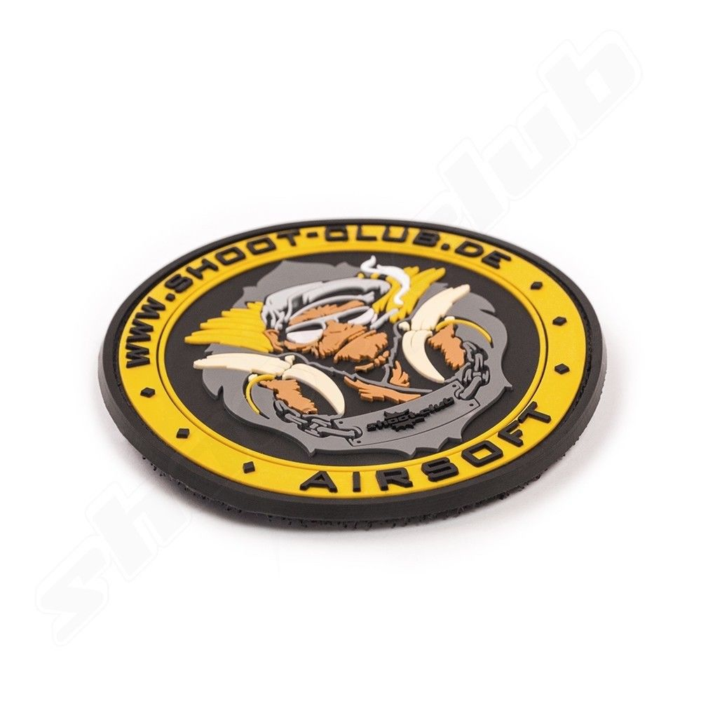 3D Rubber Patch - shoot-club - Airsoft Monkey Bild 2