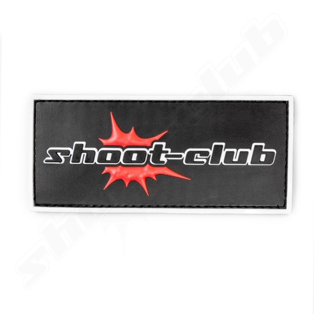 3D Rubber Patch - shoot-club - Logo Bild 2