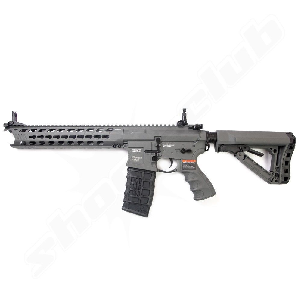 G&G GC16 Predator AEG 0,5J 6mm Airsoft Battleship Grey - ab14 Bild 2
