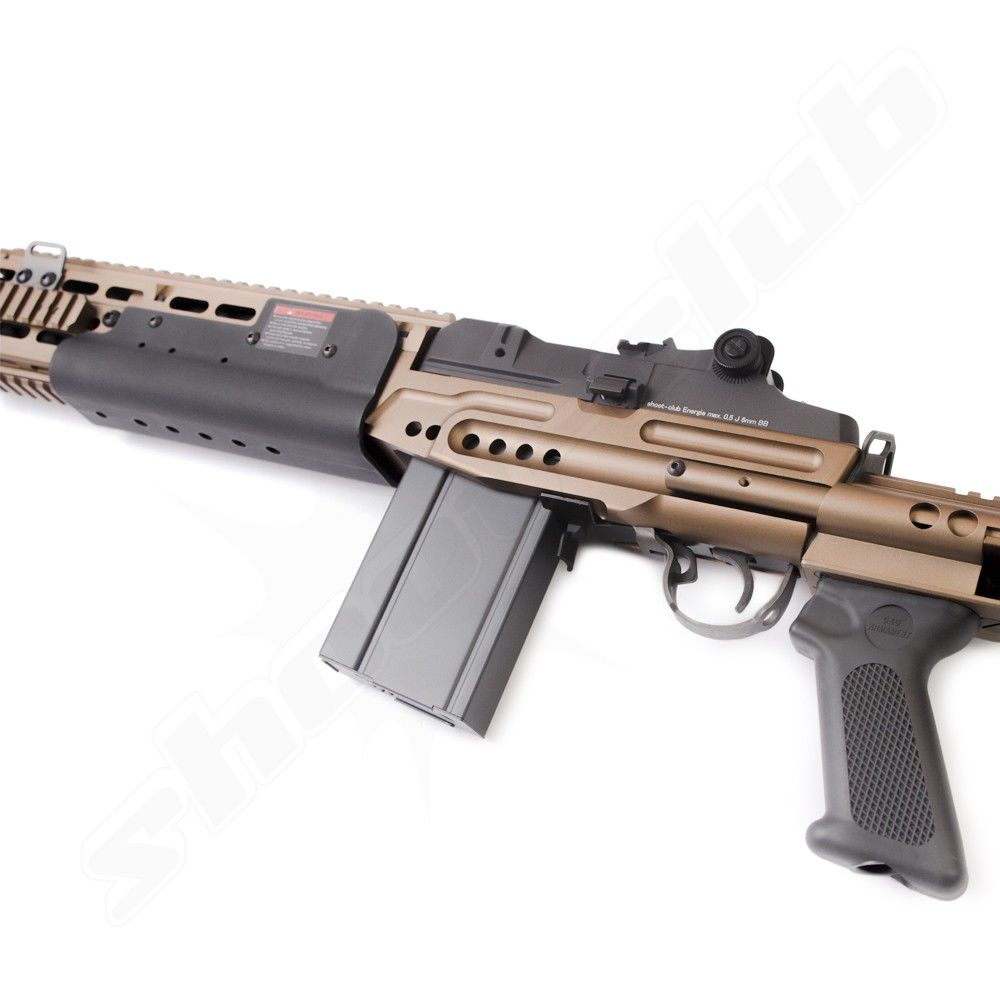 G&G M14 EBR-L AEG Softair 6mm - max. 0,5 J Bild 2
