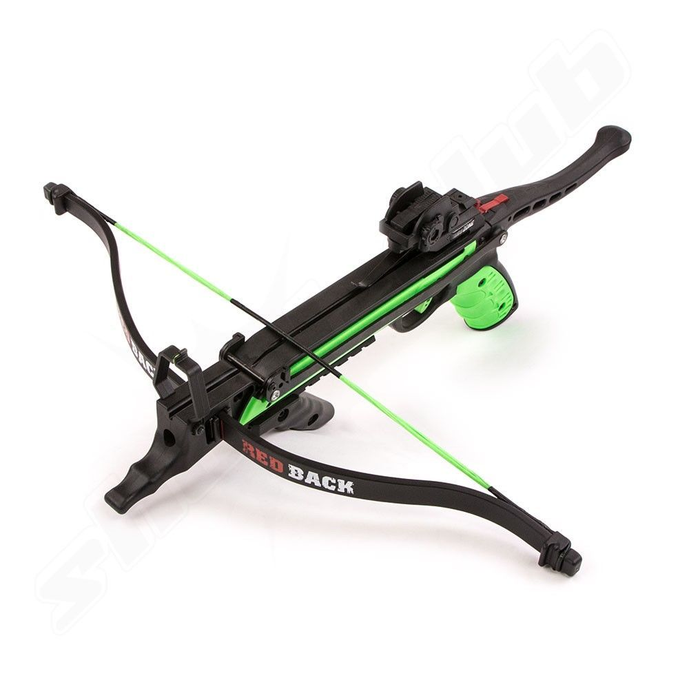 NXG Pistolenarmbrust Red Back - green black - 80lbs im Set mit 13 Bolzen Bild 3
