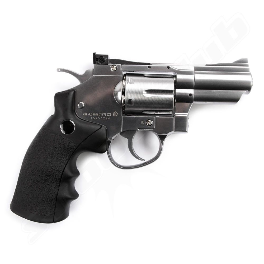 Legends S25 CO2 Revolver /Nickel - 4,5mm Diabolo Bild 2