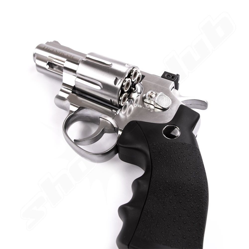 Legends S25 CO2 Revolver /Nickel - 4,5mm Diabolo Bild 3