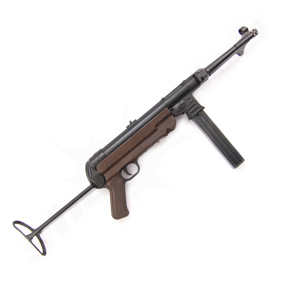 Legends MP German CO2 Gewehr Kal. 4,5mm BBs mit Klappschaft Bild 2