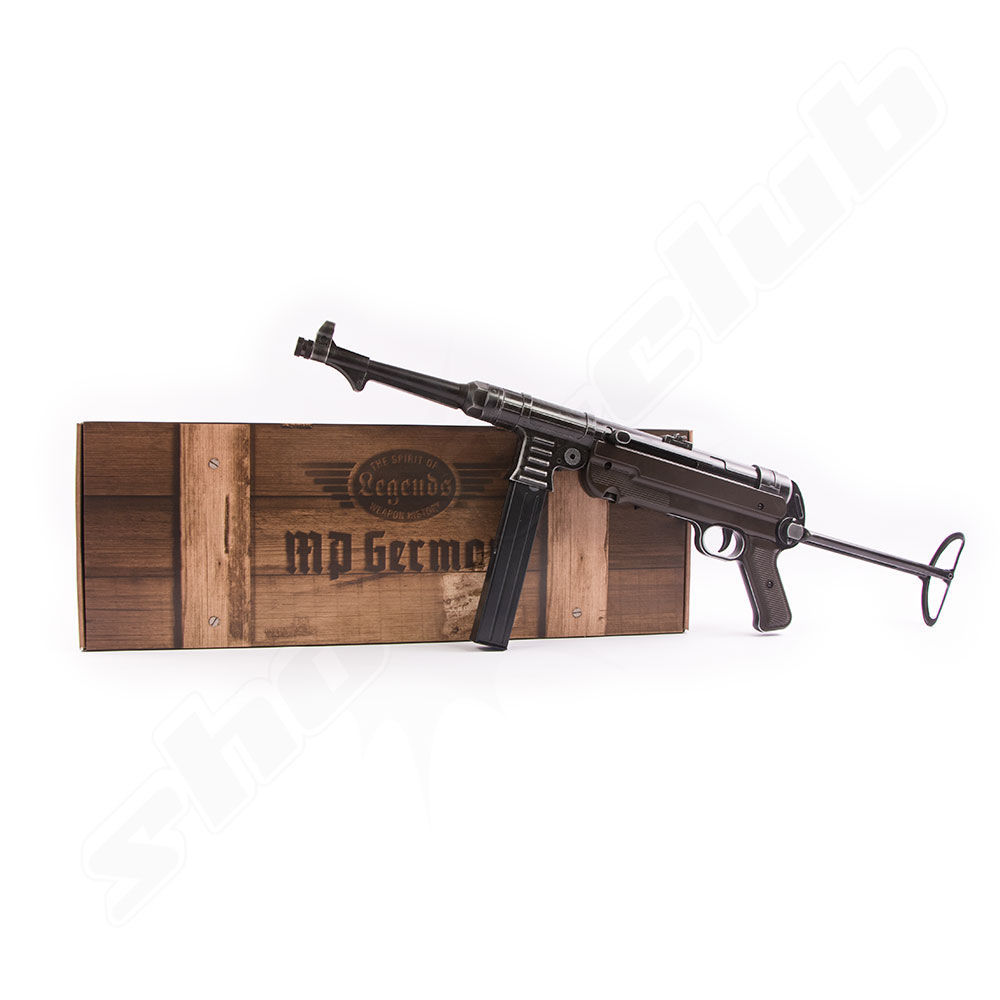 Legends MP40 German Legacy Edition CO2 Gewehr Kal. 4,5mm BBs Bild 3