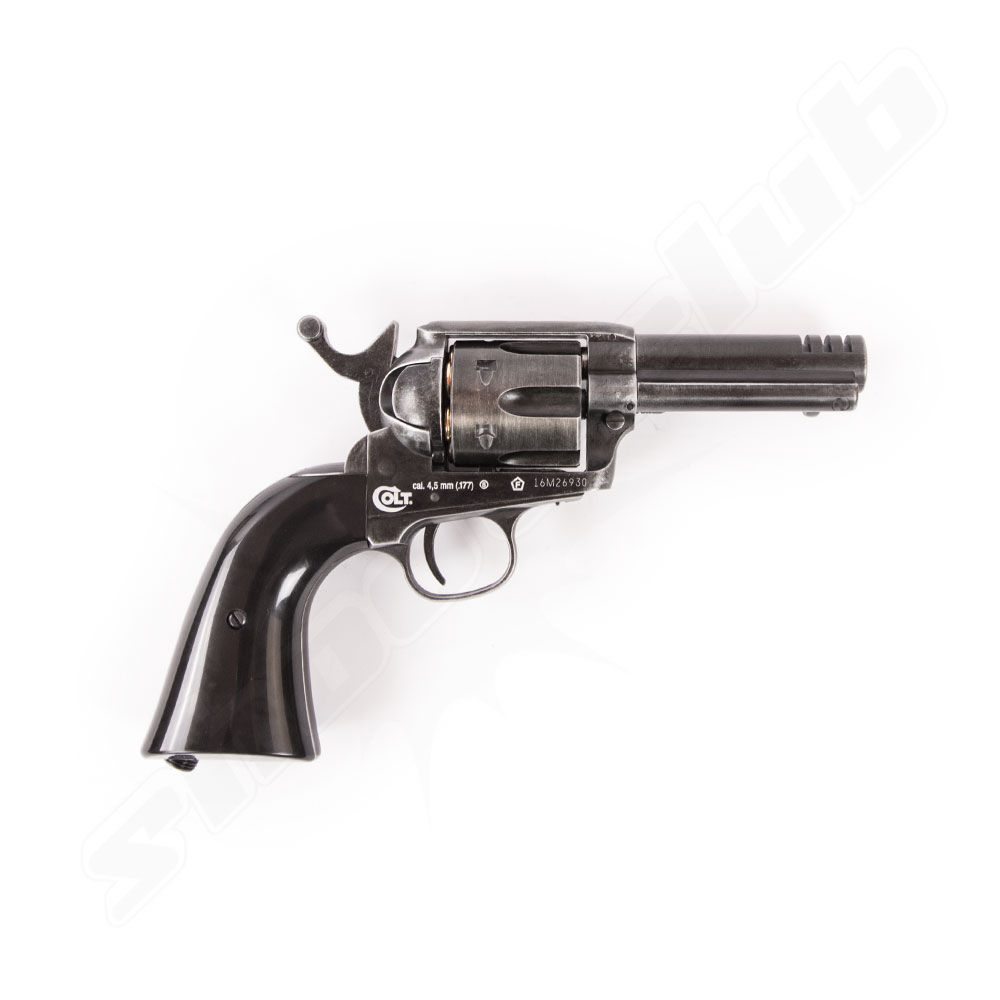 Colt SAA .45 custom shop edition CO2 Revolver 4,5mm 3,5 Lauf Bild 2