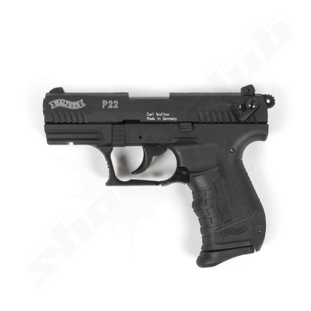 walther p22 schreckschuss pistole platzpatronen set. Black Bedroom Furniture Sets. Home Design Ideas