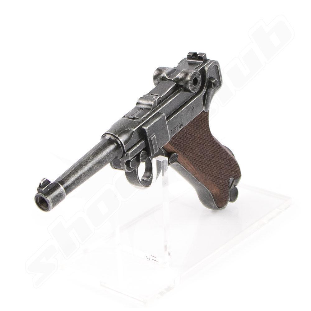luger me p08 antik look schreckschusspistole 9mm p a k. Black Bedroom Furniture Sets. Home Design Ideas
