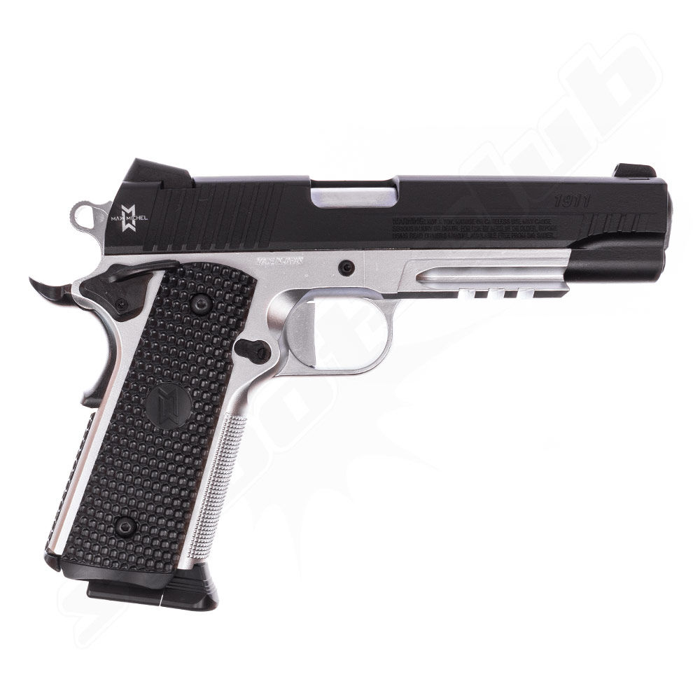GSG 1911 MAX MICHAEL CO2 Pistole 4,5mm BBs - Koffer Set Bild 2