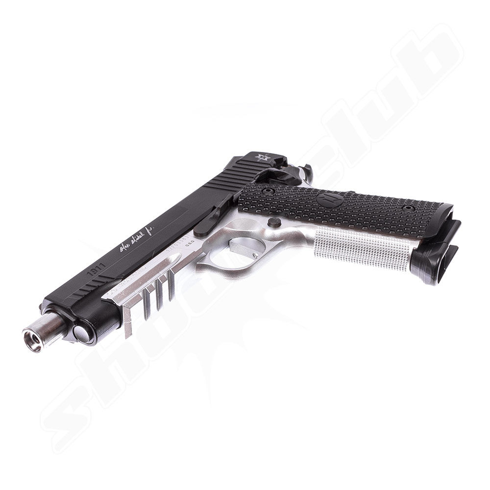 GSG 1911 MAX MICHAEL CO2 Pistole 4,5mm BBs - Koffer Set Bild 5